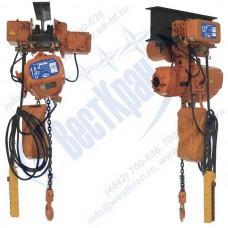 Таль электрическая цепная передвижная ТЭЦп-1,0-6,0 (г/п 1 тонна, Вп 6м)