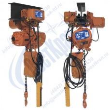 Таль электрическая цепная передвижная ТЭЦп-1,0-9,0 (г/п 1 тонна, Вп 9м)