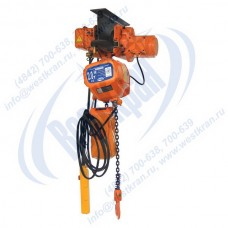 Таль электрическая цепная передвижная ТЭЦп-2,0-6,0 (г/п 2 тонны, Вп 6м)