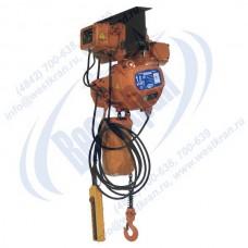 Таль электрическая цепная передвижная ТЭЦп-3,0-9,0 (г/п 3 тонны, Вп 9м)