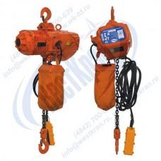 Таль электрическая цепная стационарная ТЭЦс-0,5-12,0 (г/п 0,5 тонны, Вп 12м)