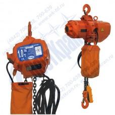 Таль электрическая цепная стационарная ТЭЦс-1,0-6,0 (г/п 1 тонна, Вп 6м)