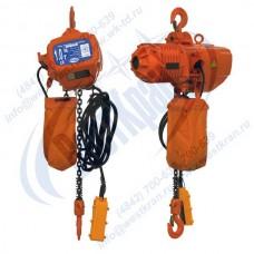 Таль электрическая цепная СТАЦИОНАРНАЯ ТЭЦс-1,0-9,0 (г/п 1 тонна, Вп 9м)