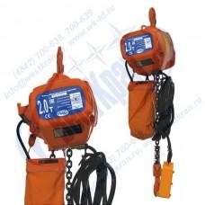 Таль электрическая цепная СТАЦИОНАРНАЯ ТЭЦс-2,0-12,0 (г/п 2 тонны, Вп 12м)