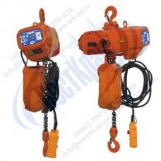 Таль электрическая цепная стационарная ТЭЦс-2,0-6,0 (г/п 2 тонны, Вп 6м)