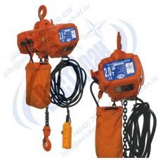Таль электрическая цепная стационарная ТЭЦс-2,0-9,0 (г/п 2 тонны, Вп 9м)
