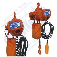 Таль электрическая цепная стационарная ТЭЦс-3,0-6,0 (г/п 3 тонны, Вп 6м)