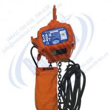 Таль электрическая цепная стационарная ТЭЦс-3,0-9,0 (г/п 3 тонны, Вп 9м)