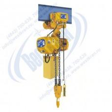 Таль электрическая цепная передвижная ТЭЦп-3,0-9,0-02 (г/п 3 тонны, Вп 9м)