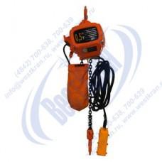 Таль электрическая стационарная цепная DHS-A-0,5-6,0