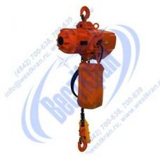 Таль электрическая стационарная цепная DHS-A-2,0-6,0