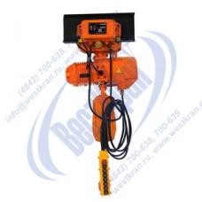 Таль электрическая цепная передвижная DHS-B-1,0-6,0