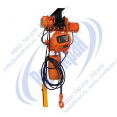 Таль электрическая цепная передвижная DHS-B-2,0-6,0