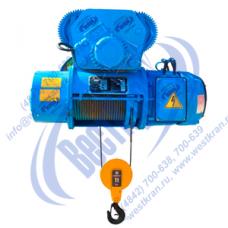 Тельфер канатный электрический передвижной 13Т10 316. Г/п: 1,0тн., Нп-6м