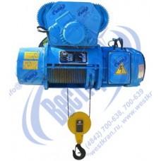 Тельфер канатный электрический передвижной 13Т10 416. Г/п: 2,0тн., Нп-6м