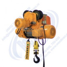 Таль электрическая канатная CD-1,0-12,0. Г/п-1,0т., Нп-12м.