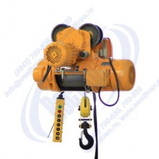 Таль электрическая канатная CD-2,0-24,0. Г/п-2,0т., Нп-24м.
