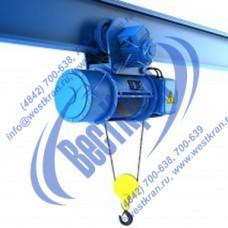 Таль электрическая канатная CD1-10,0-24,0 г/п 10 тонн, Вп 24м