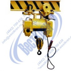 Таль электрическая ТЭ 100-531 г/п 1 тонна, Вп 18м