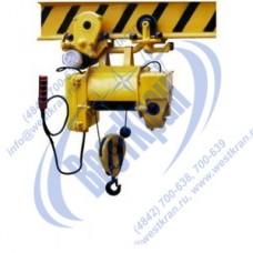 Таль электрическая ТЭ 100-521. Г/п-1,0т., Нп-12,0м