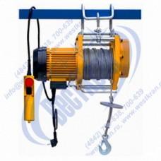 Таль фассадная электрическая BH250D Г/п-250кг, Нпод.= 60м, 220В