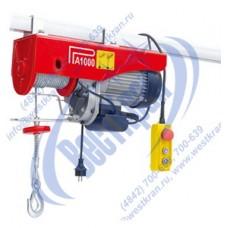 Таль электрическая стационарная РА 125/250кг 12/6м (220В)