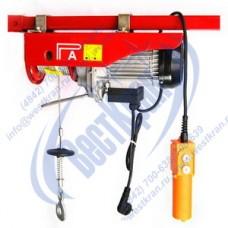 Таль электрическая стационарная РА 250/500кг 12/6м (220В)