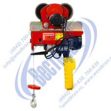Таль электрическая передвижная TOR РА 250/500кг 12/6м (220В)