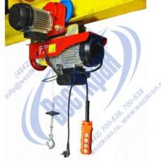 Таль электрическая передвижная TOR РА 600/1200кг 12/6м (220В)