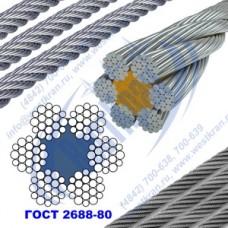 Канат стальной 3,6мм ГОСТ 2688-80