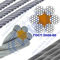 Канат стальной 3,8  ГОСТ 2688-80