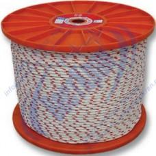 Шнур полиамидный 16-прядный 10мм, разрушающая нагрузка 1000кгс