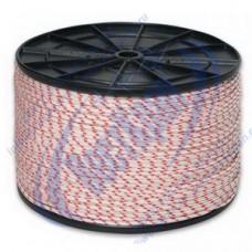 Шнур полиамидный 16-прядный 6мм, разрушающая нагрузка 400кгс
