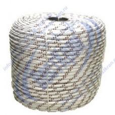 Шнур полиамидный 16-прядный 8мм, разрушающая нагрузка 700кгс