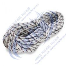 Веревка плетеная полиамидная 24-прядная 6мм, разрушающая нагрузка 700кгс