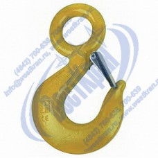 Крюк чалочный с проушиной 320А г/п 11 тонн