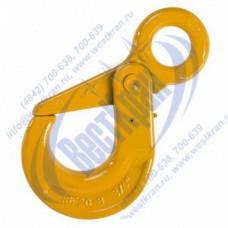 Крюк самозапирающийся с проушиной VAK 20-8 г/п 12,5 тонн