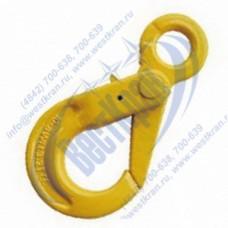 Крюк самозапирающийся с проушиной VAK 10-8 г/п 3,2 тонны