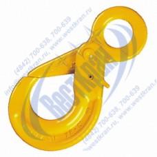Крюк самозапирающийся с проушиной VAK 13-8 г/п 5,4 тонны