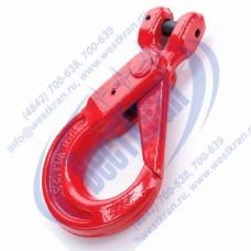 Крюк самозапирающийся с вилочным сопряжением VAKH 20-8 г/п 12,5 тонн