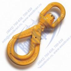 Крюк поворотный самозапирающийся VAKL10 г/п 3,15 тонны, 8 класс