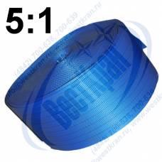 Лента полиэфирная для стропов ЛПЭС-240-24000 (5:1) синяя