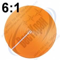 Лента полиэфирная для стропов ЛПЭС-300-36000 (6:1) оранжевая