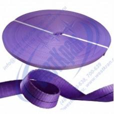 Лента полиэфирная для стропов ЛПЭС-030-4500 (7:1) фиолетовая