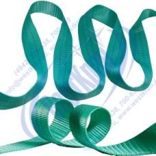 Лента полиэфирная для стропов ЛПЭС-060-9000 (7:1) зеленая