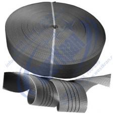 Лента полиэфирная для стропов ЛПЭС-120-18000 (7:1) серая