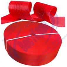 Лента полиэфирная для стропов ЛПЭС-150-22500 (7:1) красная