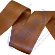 Лента полиэфирная для стропов ЛПЭС-180-27000 (7:1) коричневая
