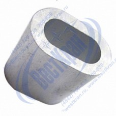 Втулка алюминиевая 13мм DIN3093
