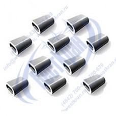 Втулка алюминиевая 4мм EN 13411-3 (DIN 3093)